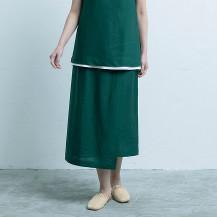 麻のサマースカート