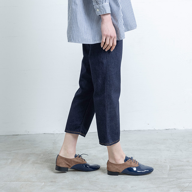SETTO CROPPED JEANS