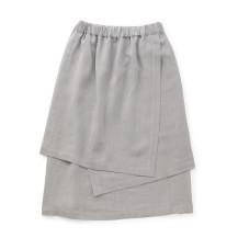 麻の紙布 かさねスカート