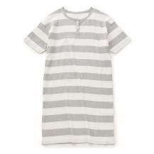 高島ちぢみの寝巻きロングTシャツ