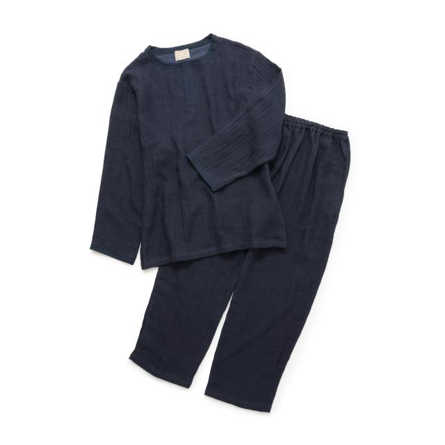 綿麻ガーゼのパジャマ