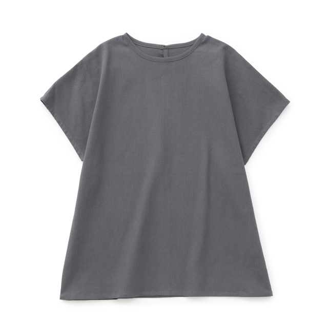 高島ちぢみのフリーTシャツ紺