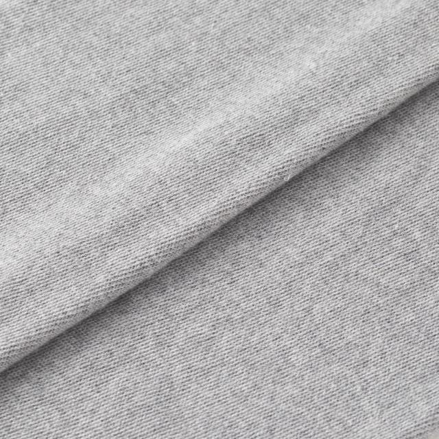 綿とシルク混パイルのレギンスパンツ