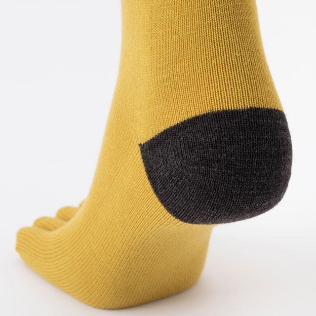 あたたかな5本指靴下