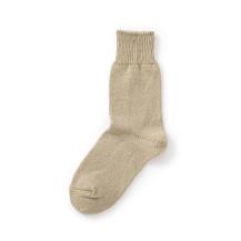 麻シルクの靴下