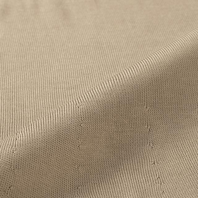 洗濯機で洗える絹のネックウォーマー