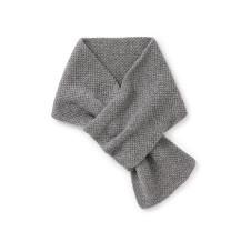 鹿の子編みの洗えるマフラー