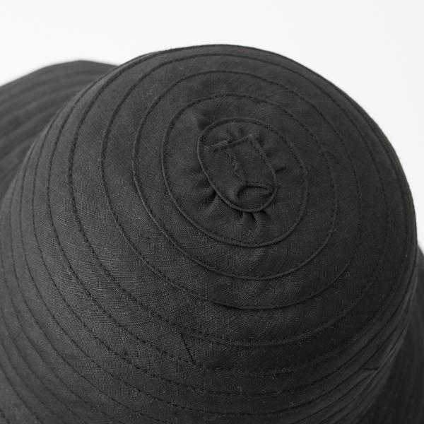 帽子 麻ブレード