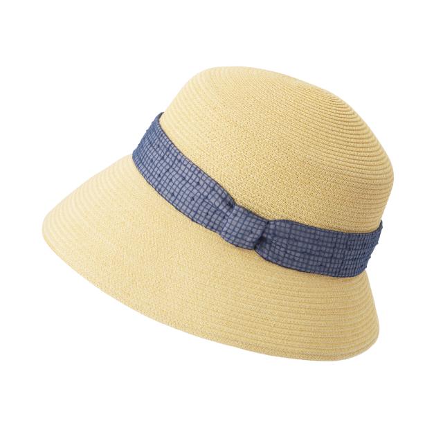 帽子 露格子