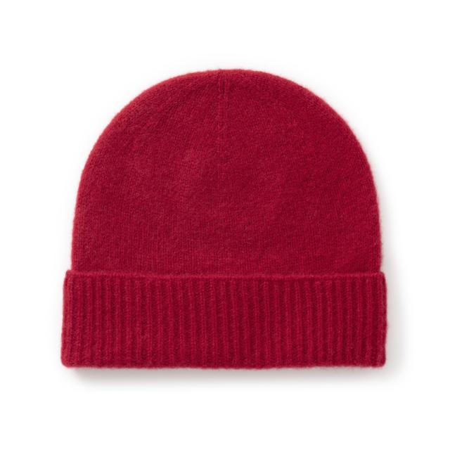 カシミヤのニット帽