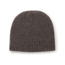 鹿の子編みのニット帽
