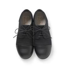 麻帆布のよそ行き靴