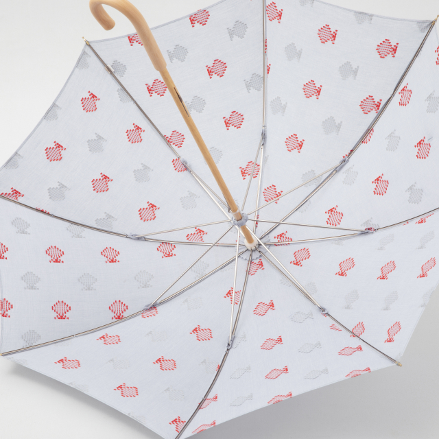 日傘 ドビー織の金魚