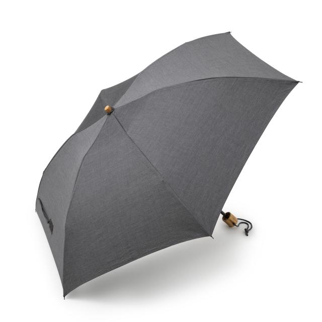 シャツ生地で作った紳士用日傘