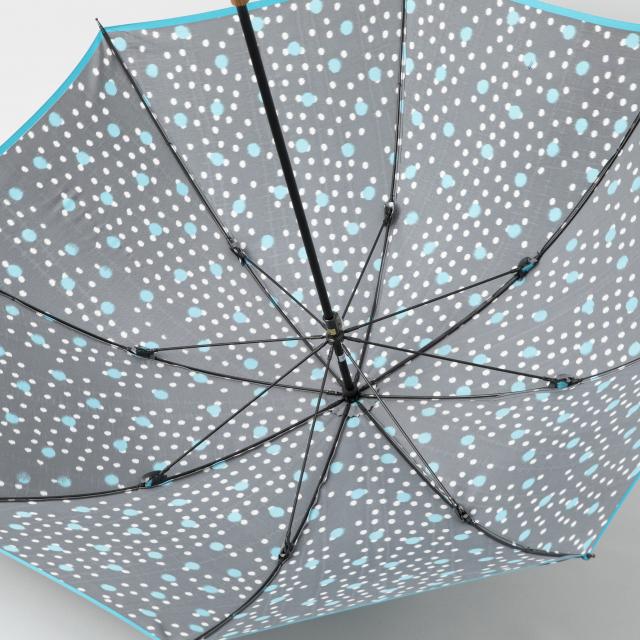 雨傘 ほぐし織雨あられ