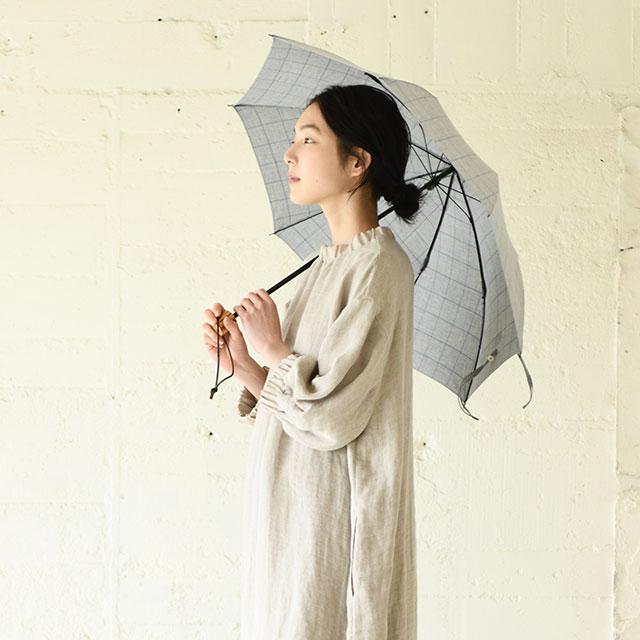 シャツ地で作った晴雨兼用傘