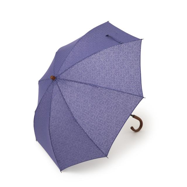折畳み日傘 江戸小紋×ポルカドット