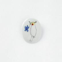 KUTANI SEAL 小鳥のブローチ