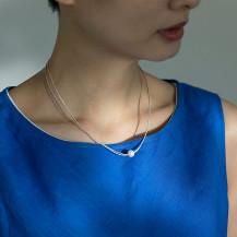 宇和島産本真珠のネックレス