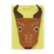 鹿ハンカチ【ご当地ものセール】