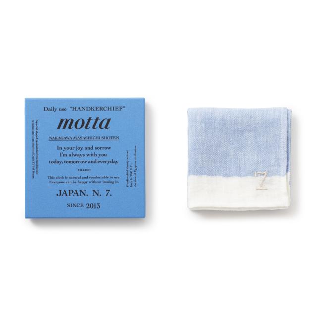 motta7周年記念ハンカチ