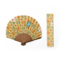 日本市宝物紋 扇子ホタテ形 連珠文の鹿【ご当地ものセール】