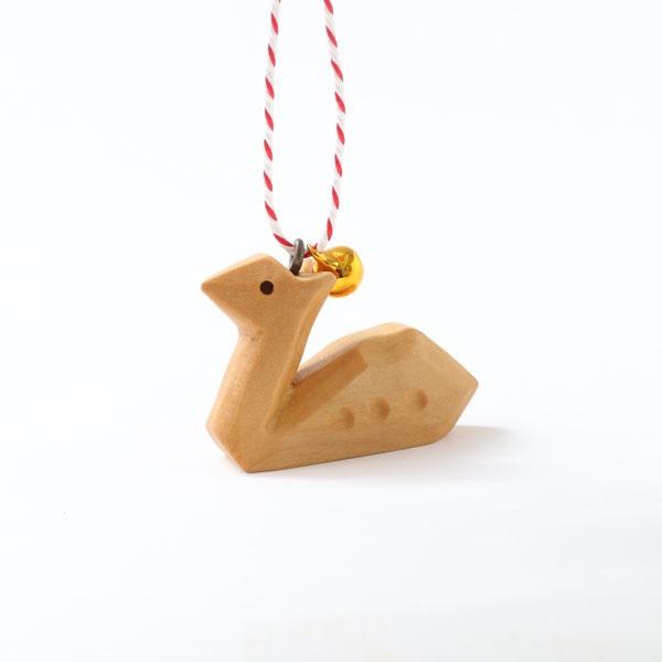 手彫りの鹿鈴