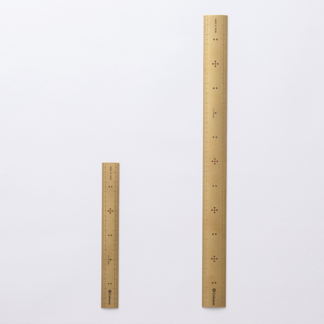 Cohana 真ちゅうの竹尺 15cm