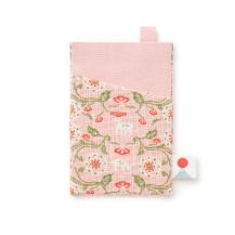 日本市宝物紋 定期入れ 花氈の鹿【ご当地ものセール】