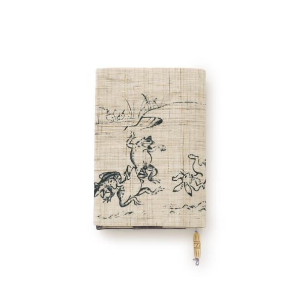 鳥獣絵巻物ブックカバー