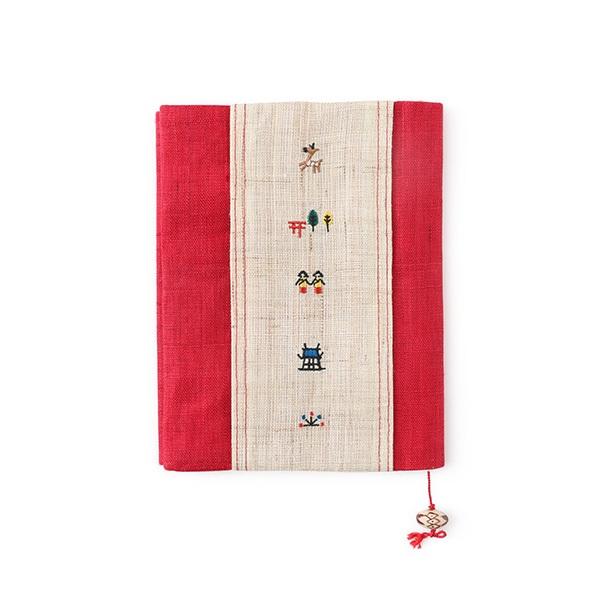 奈良絵のブックカバー