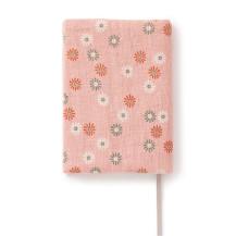 ブックカバー 小紋 菊苺