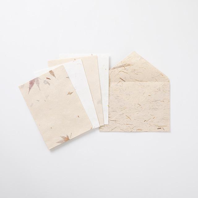名尾手すき和紙 すき込封筒