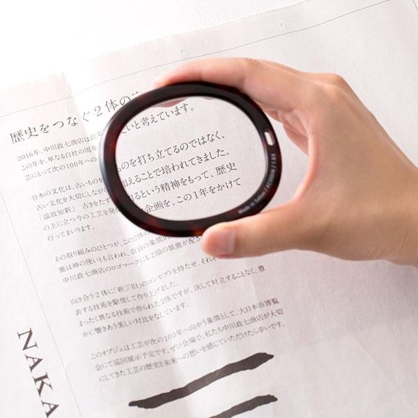 鯖江のメガネ屋さんで作った読書グラス