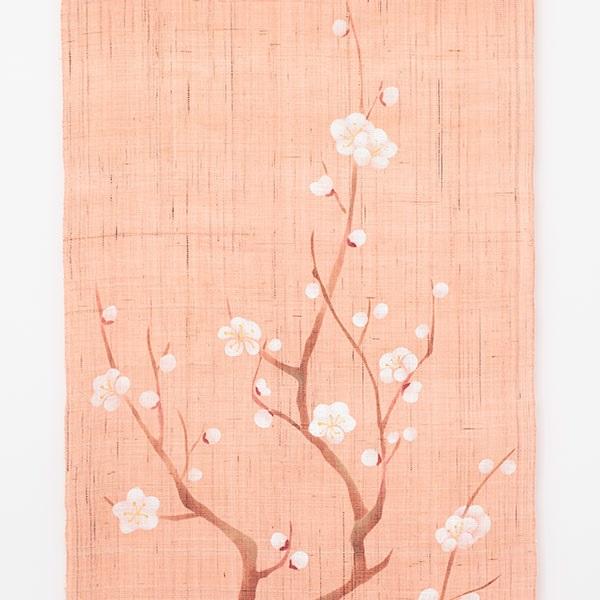 タペストリー 花景色 初春