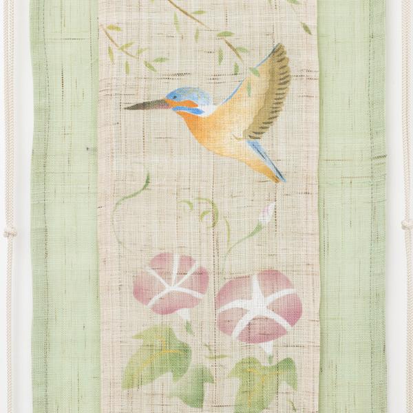 房飾りタペストリー 夏花鳥