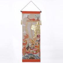 吉祥宝船七福神タペストリー