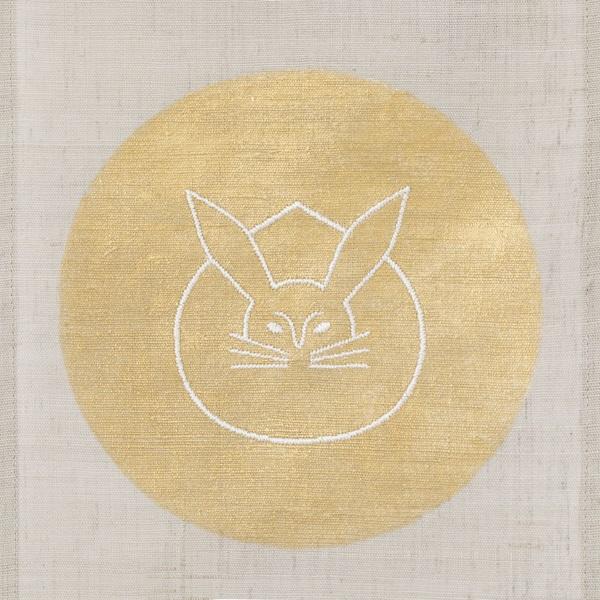 ミニタペストリー 月兎