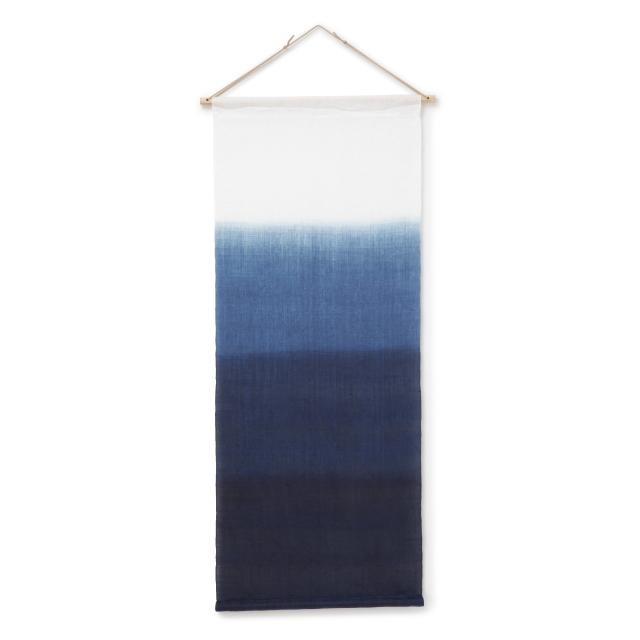 本藍染タペストリー