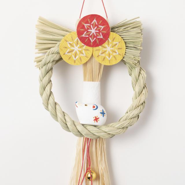 ミニ注連縄飾り 子