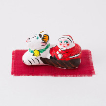 張子飾り サンタ【会員限定蔵出市対象商品】