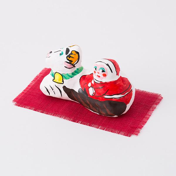 張子飾り サンタ
