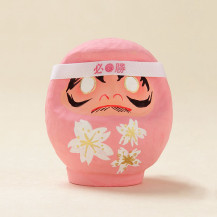 桜咲くだるま