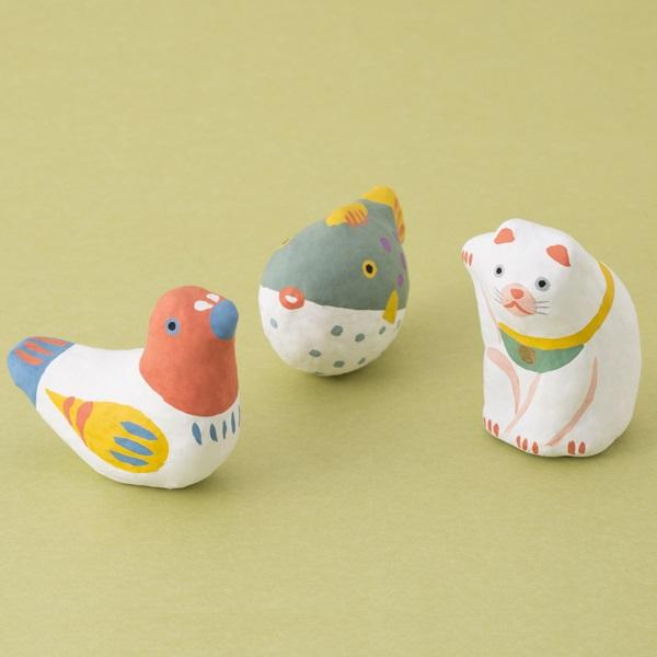 めでた玩具 張子 はと|家を装う|中川政七商店 公式サイト