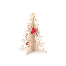 もみの木でつくったクリスマスツリー 小