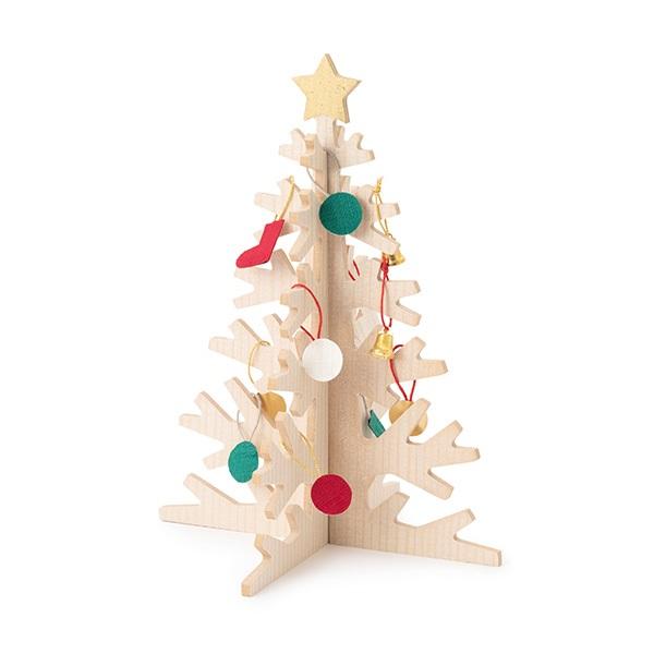 もみの木でつくったクリスマスツリー 大
