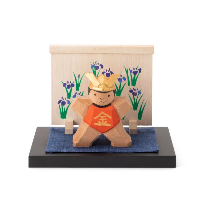 奈良一刀彫の金太郎飾り
