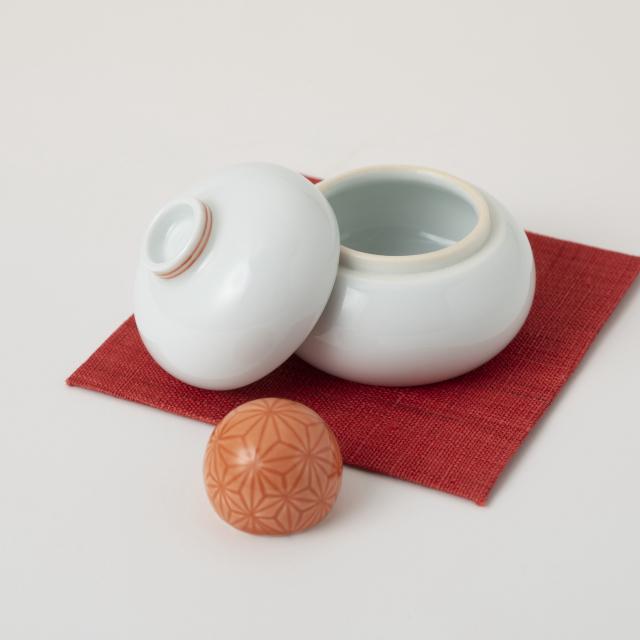 鍋島焼の鏡餅飾り 小