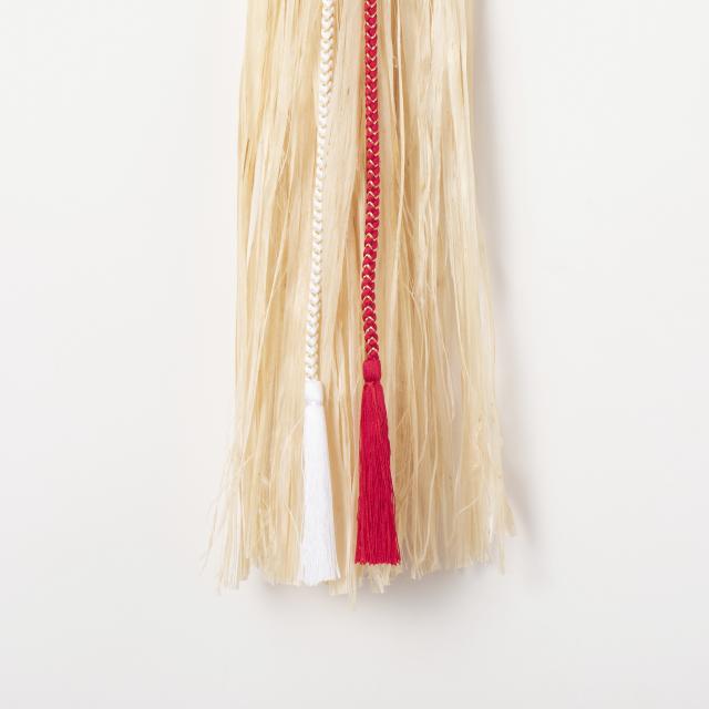 正絹組紐でつくった根引松飾り
