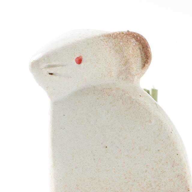 信楽焼の干支飾り 子